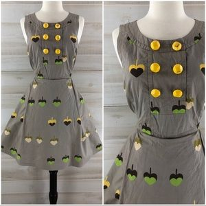 Marc by Marc Jacobs full skirt dress pockets 8